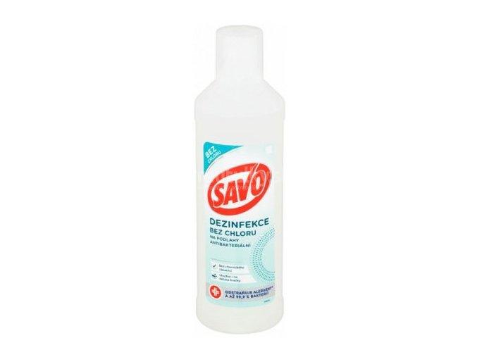 Savo Antibakteriálny čistič na podlahy bez chlóru 1l SOSP