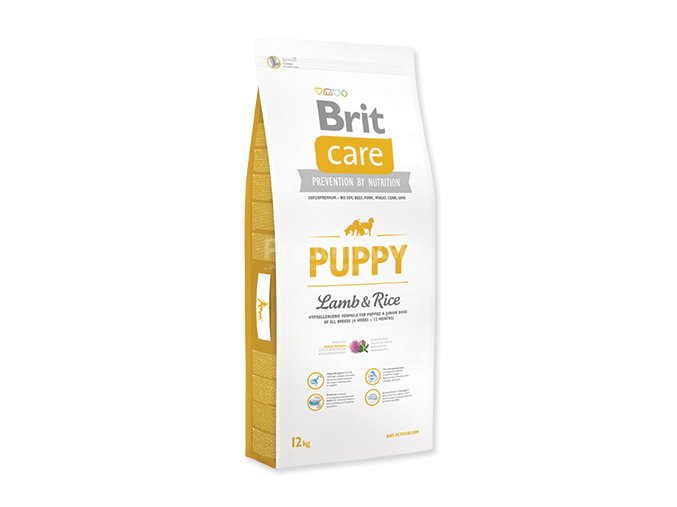 care puppy lamb rice 12kg