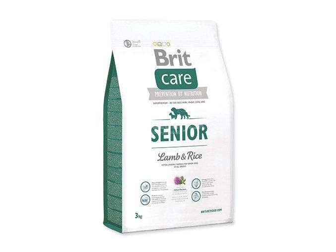 BRIT Care dog Senior Lamb & Rice 3 kgg OZH