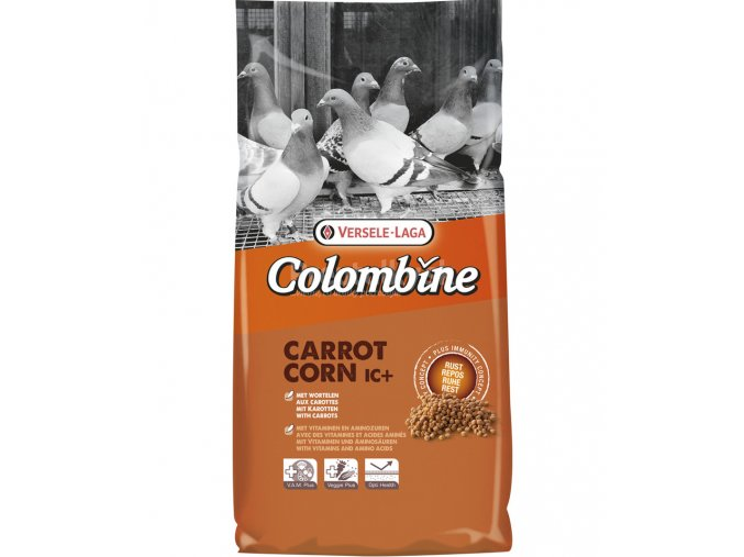 colombine corn carrot