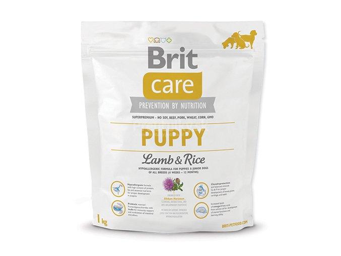 brit care puppy lamb rice 1kg