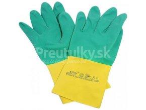 Rukavice Ansell Bi-Colour latexovo-neoprénové veľ. 10 - XL