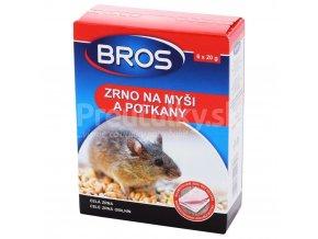 Bros zrno na myši a potkany 120g (6x20g)