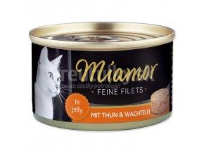 miamor tuniak prepelicie vajicka