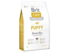 brit care puppy lamb rice 3kg
