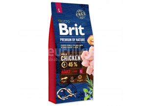 brit nature adult L 15KG