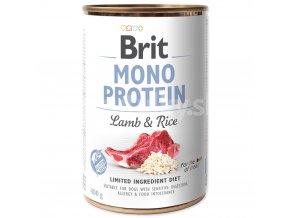 brit mono protein lamb rice