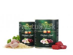 nuevo chicken beef