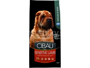 farmina cibau sensitive lamb 12