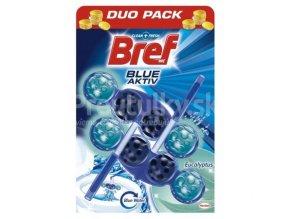 Bref Blue Aktiv Eucalyptus 2x50g