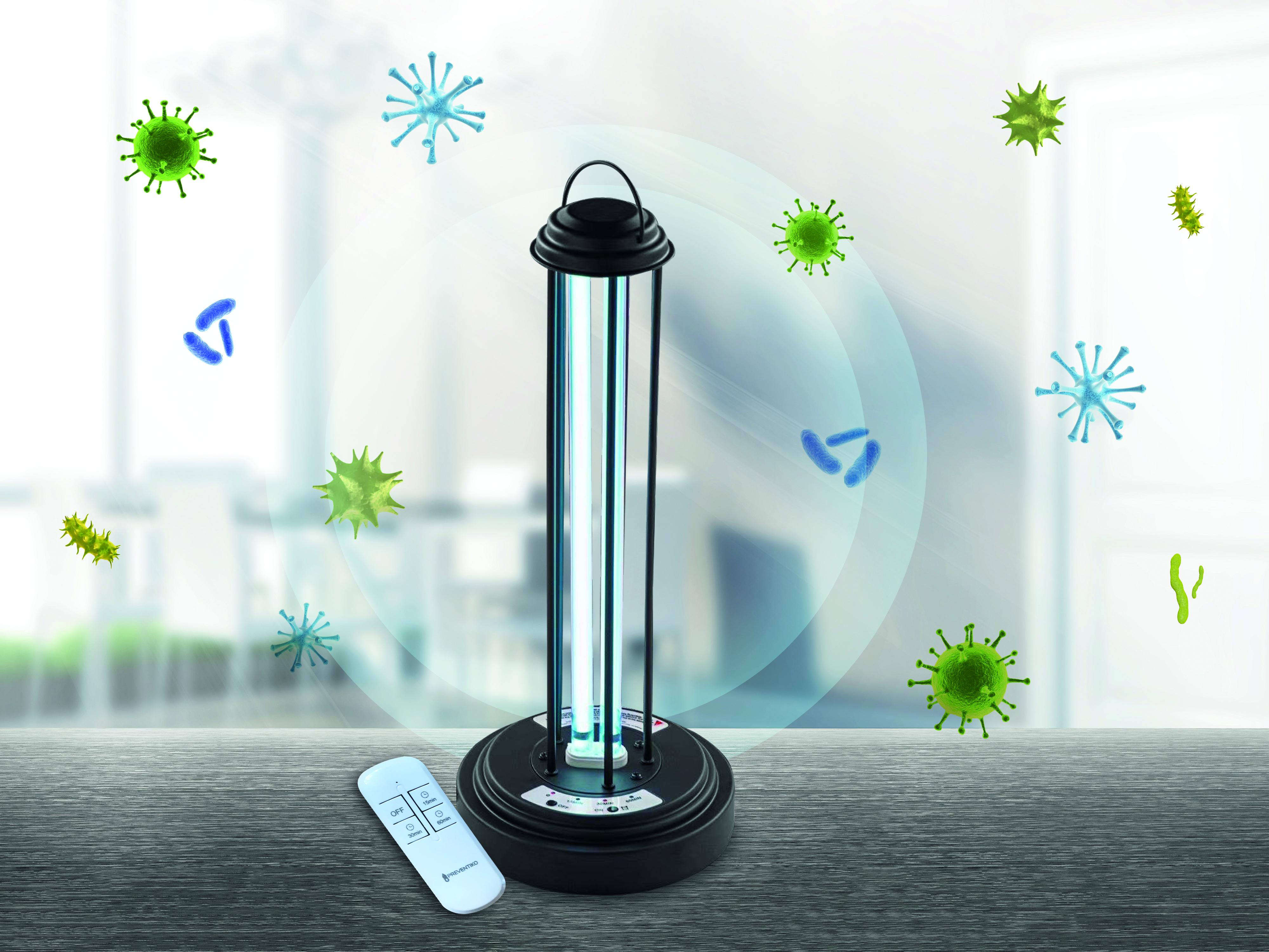 Rychlá a účinná dezinfekce vaší provozovny? Zkuste germicidní UV-C lampu!