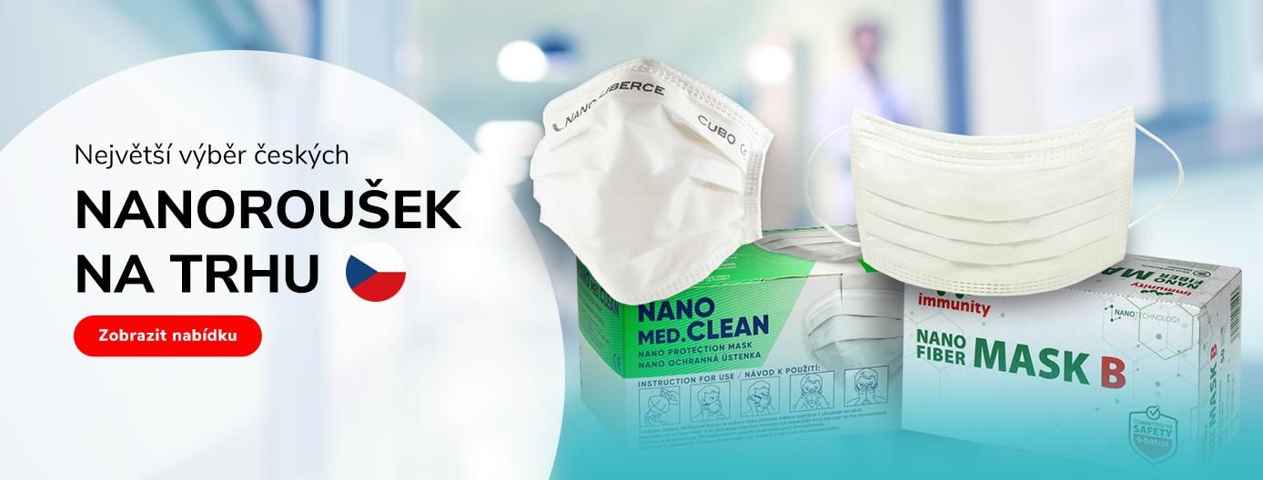 Největší výběr českých nanoroušek
