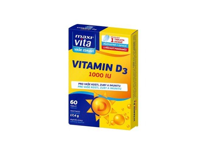 MaxiVita Vitamin D3 1000 IU