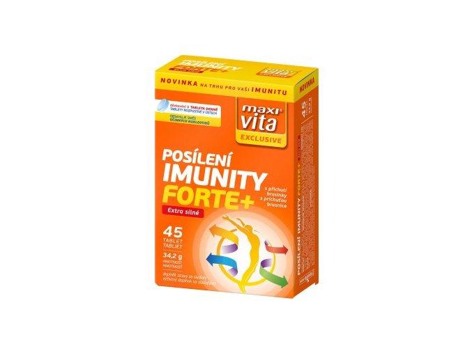 MaxiVita Exclusive Posílení imunity forte+