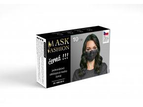 Fashion Mask Tex Tech Černá