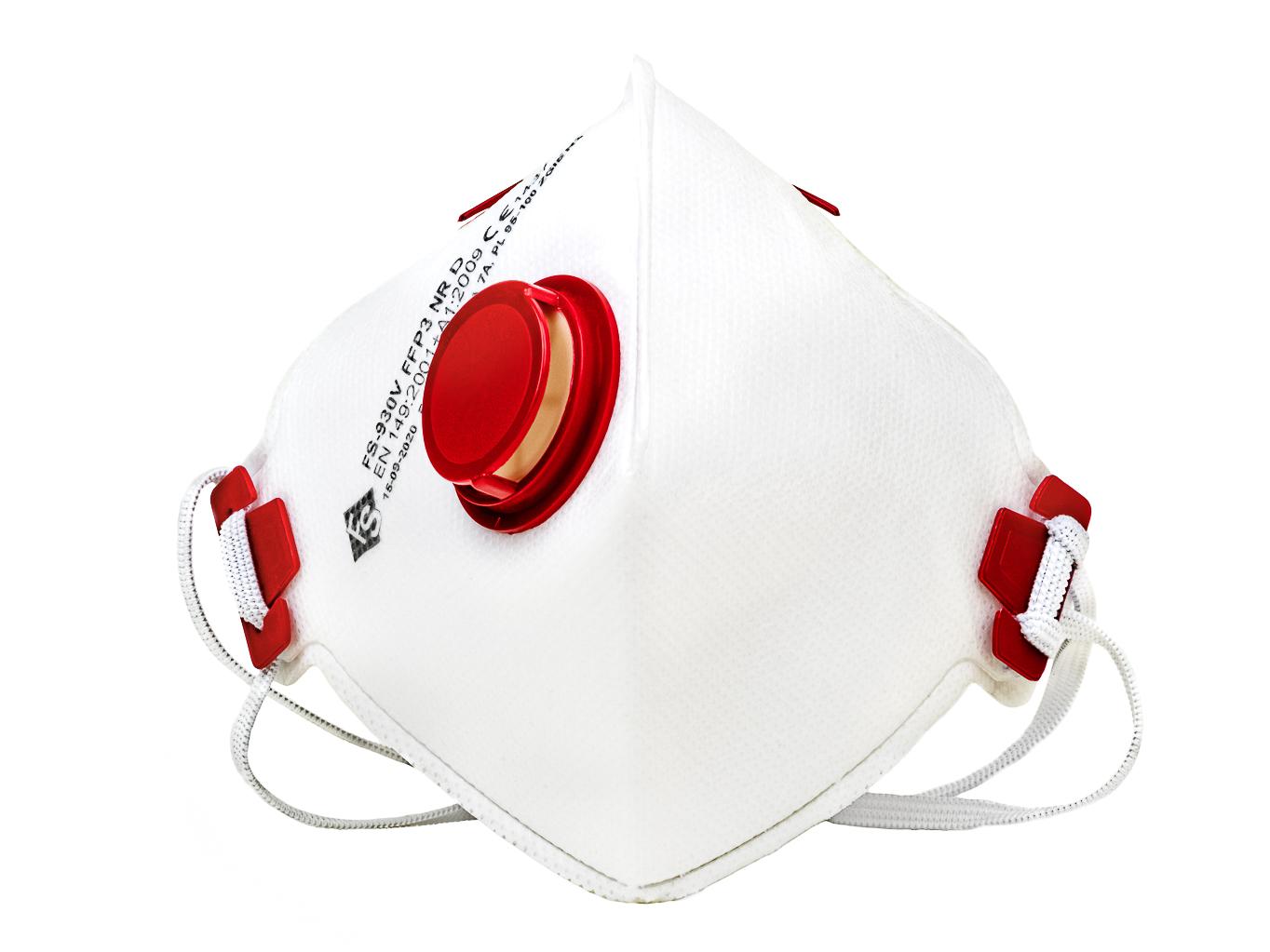 FFP3 respirátor evropská výroba - balení 10 ks