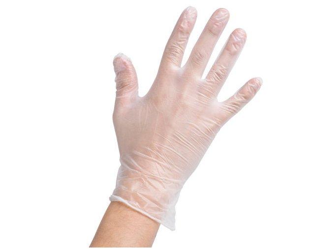 Vinylove jednorazove rukavice