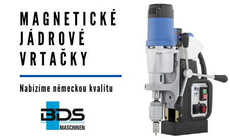 magnetické vŕtačky BDS Maschinen