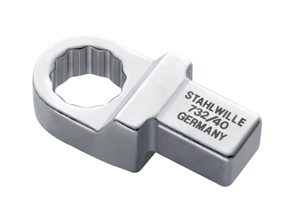 Prstencový kľúč 14x18mm Stahlwille 732/40 pre momentové kľúče