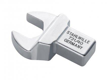 Stranový otvorený kľúč 14x18mm Stahlwille 731/40 pre momentové kľúče