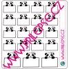 147 Panda lísteček