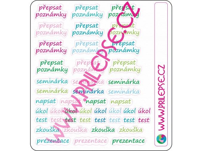Školní písmo