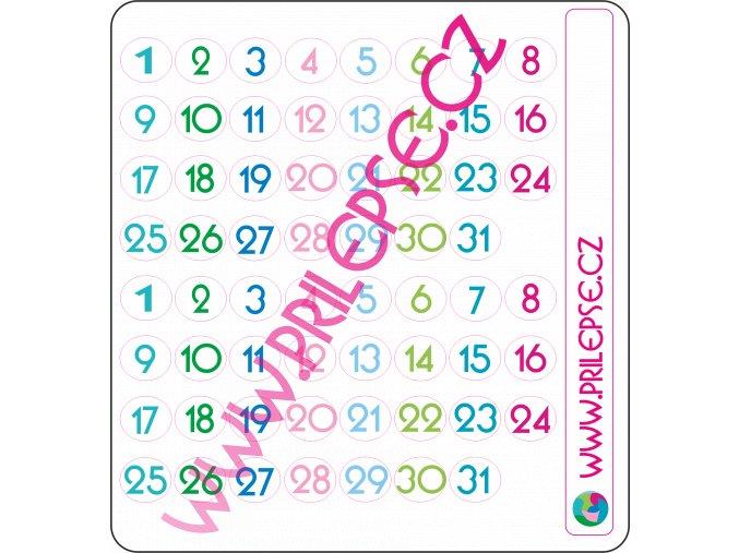 66 Čísla barevná