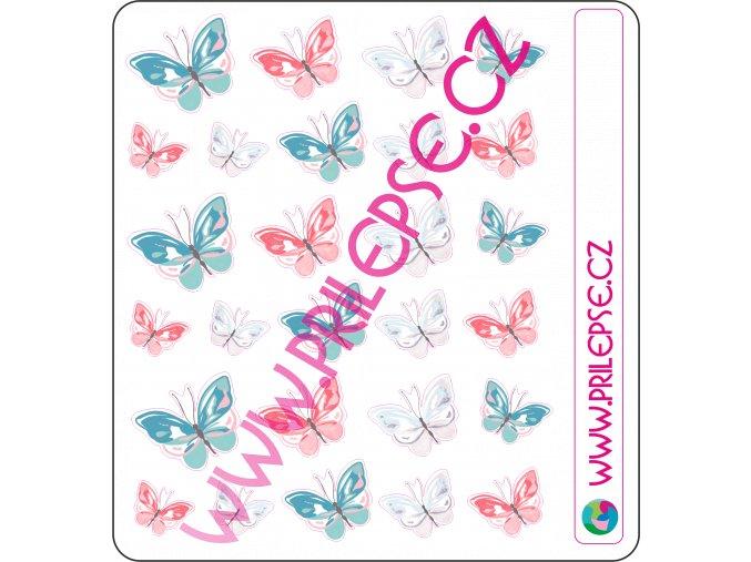 135 Motýli