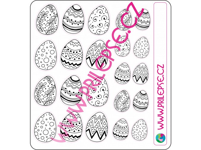 138 Velikonoční vajíčka