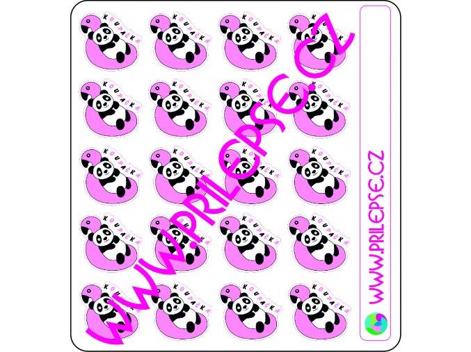 154 Koupačka s pandou