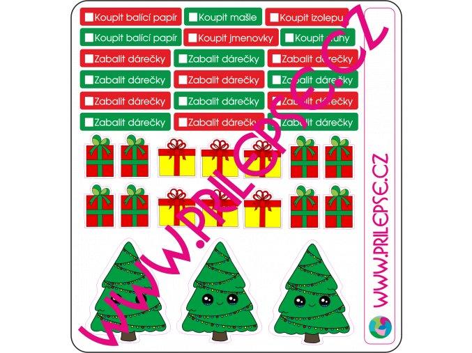 205 vánoční dárky