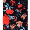 Letní květované Mini šaty barevné