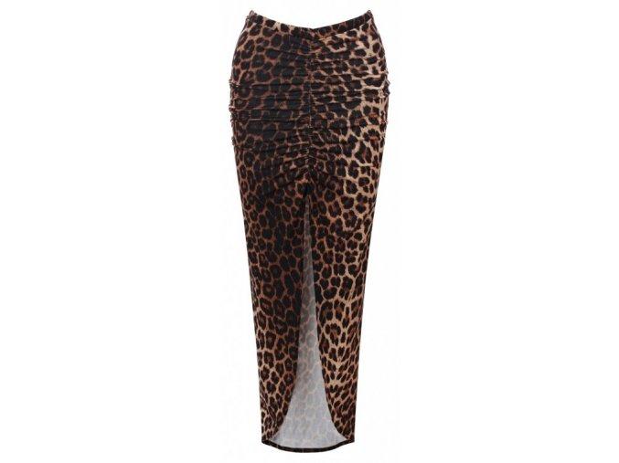 Dámská sukně EVITA DS17LEO leopard