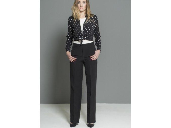 Dámské elegantní kalhoty DK75116C