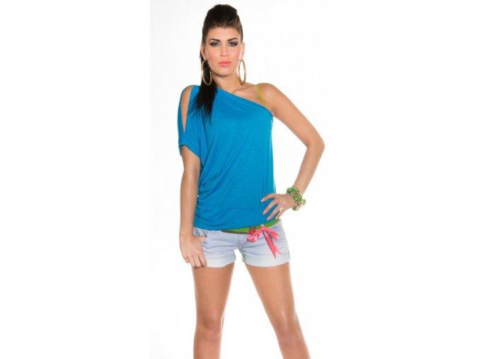 Koucla tričko DT9201M - modré