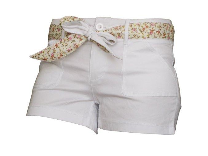 Dámské šortky MOA - bílé-P8976W