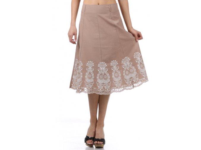 Dámská sukně MOA S8949 béžová