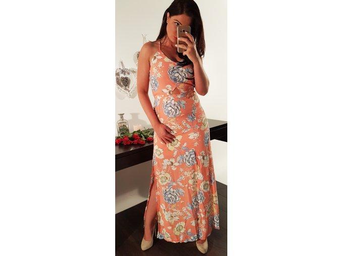 Dámské květované šaty June Coral