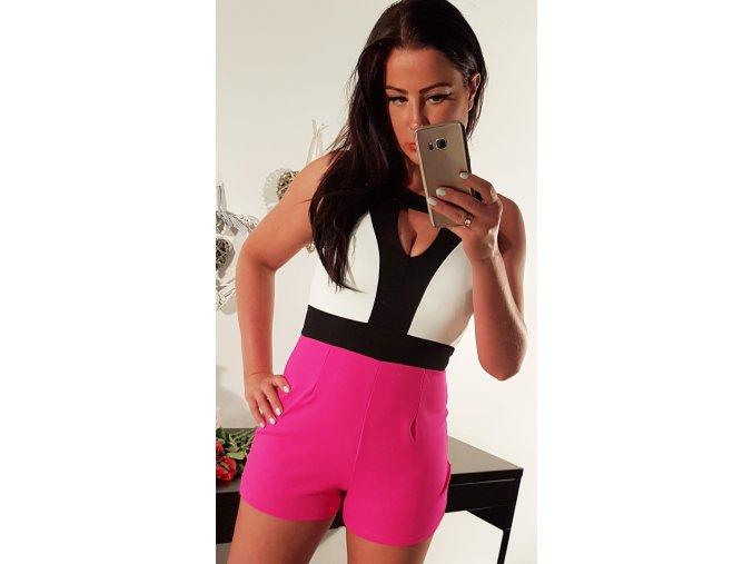 Dámský overal Camila Hot Pink