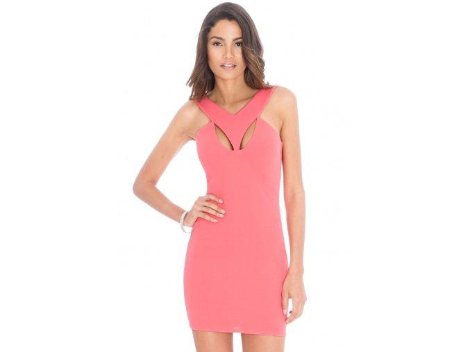 Mini šaty EVA CORAL