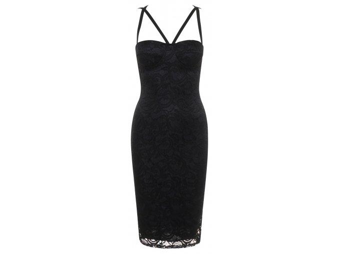 Dámské krajkové šaty ALIZA BLACK