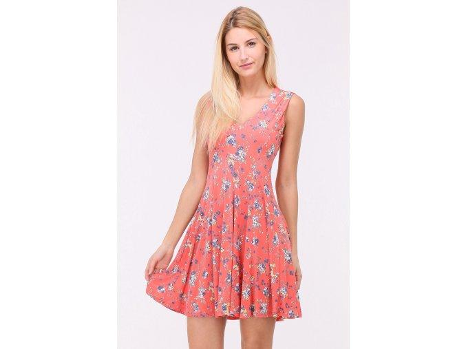 Letní Květované šaty LUNA CORAL