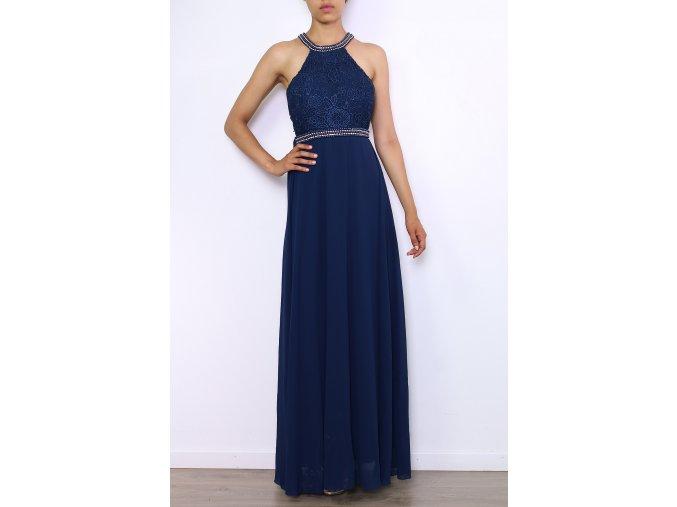 Společenské šaty LAURA NAVY