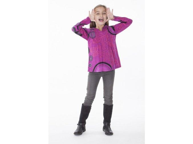 dívčí etno triko