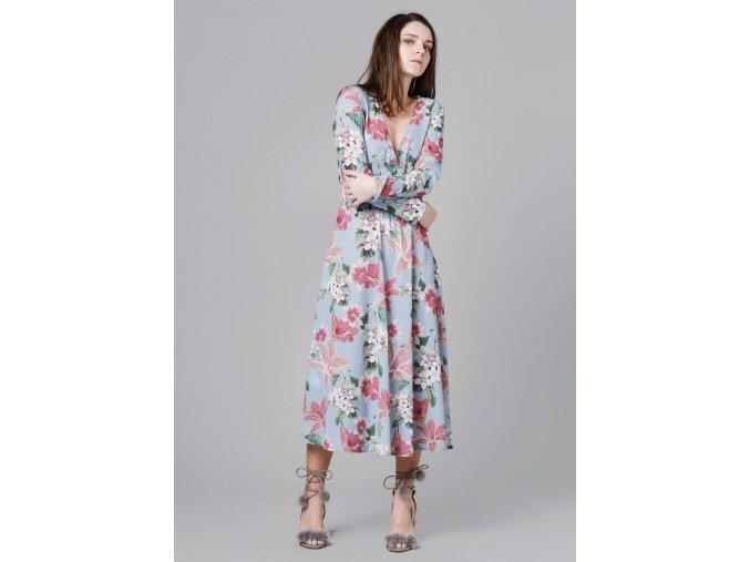 Dlouhé šaty BLUEFLORA