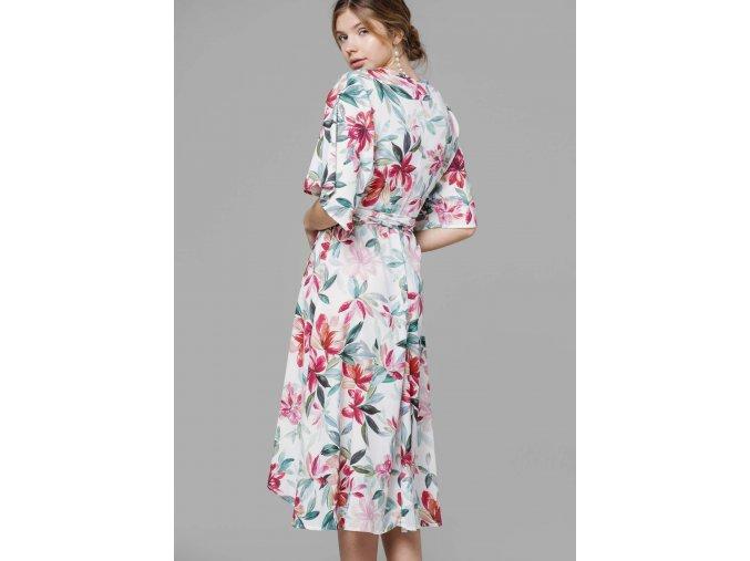 Dlouhé šaty WHITEFLORA