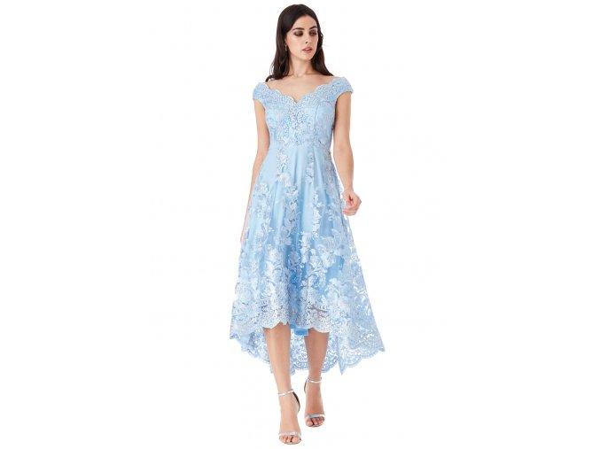 Krajkové šaty pro družičku
