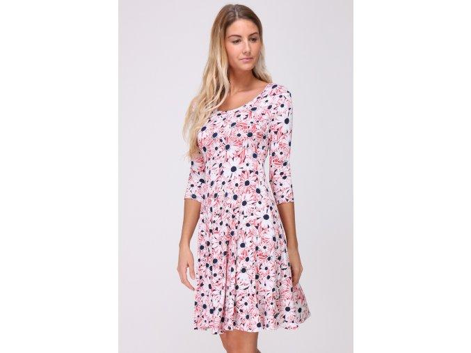 Květované šaty