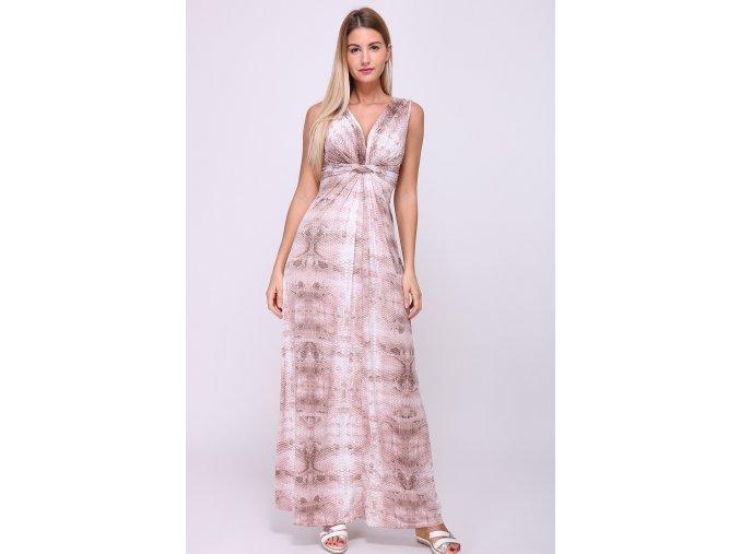 Letní Maxi šaty SARA NUDE
