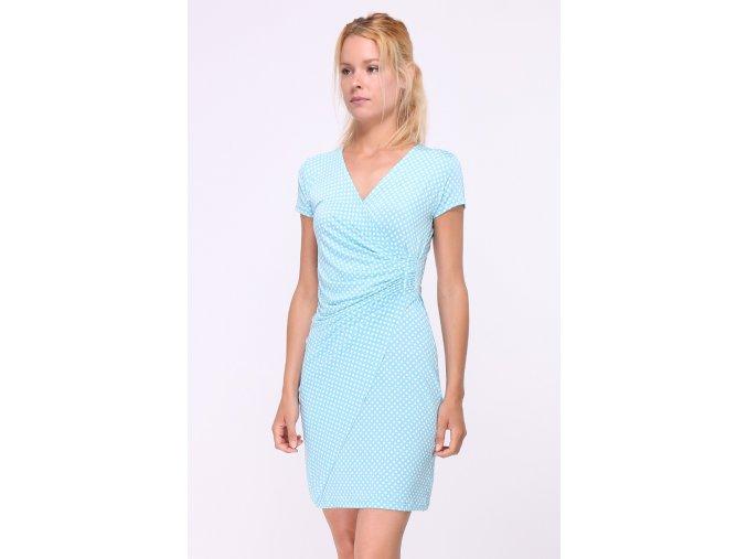 Letní puntíkaté šaty CAMILLES TYRKYS